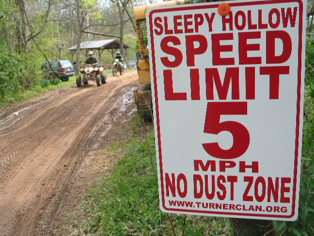 Speed Limit at The cabin